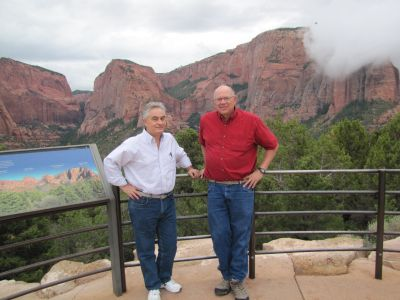 Cedar City Remote Viewing Course photo of student with Paul H. Smith