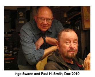 Remote viewing creator Ingo Swann with remote viewer Paul H. Smith