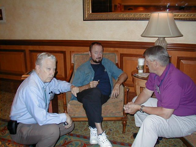 Ingo Swann with Bill Higgins and John Alexander