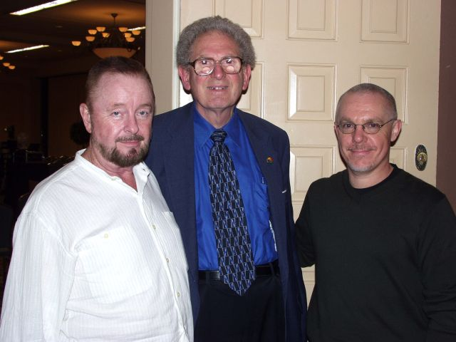 Ingo Swann with Russell Targ and Tom Burgin