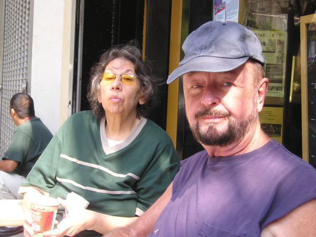 Ingo Swann with friend Mary Anne
