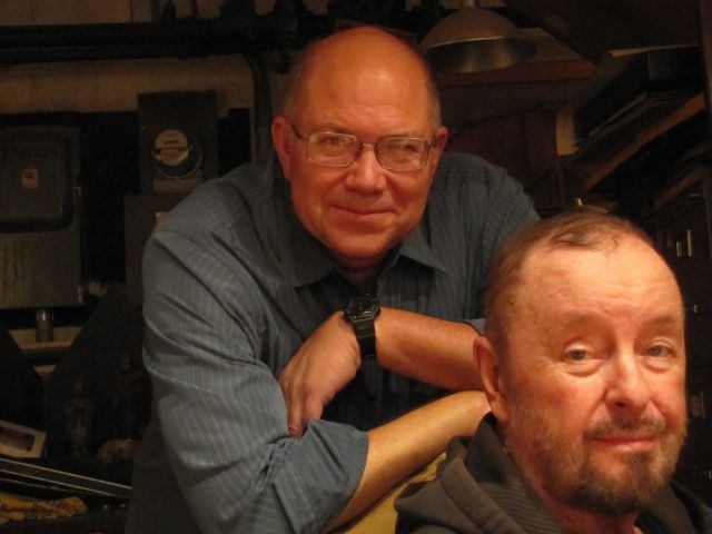 Ingo Swann with Paul H. Smith, 2010