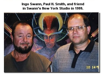 Ingo Swann, Paul H. Smith, and friend